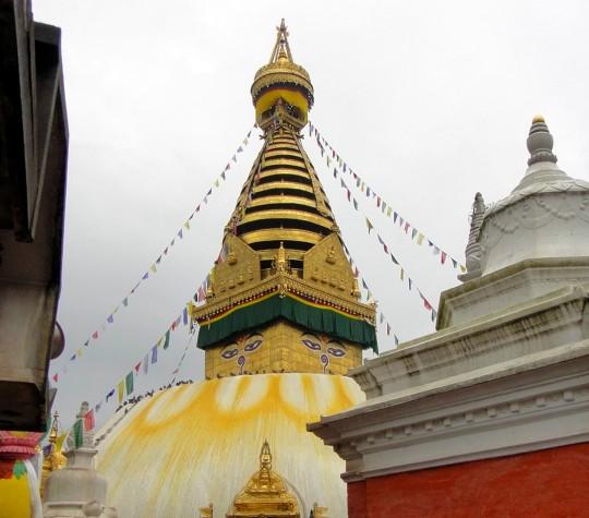 image: Stupa at Swayambhunath